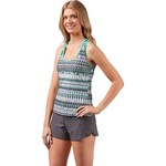 Gerry Women's Swim Sporty Teardrop XO Tankini Top - view number 3