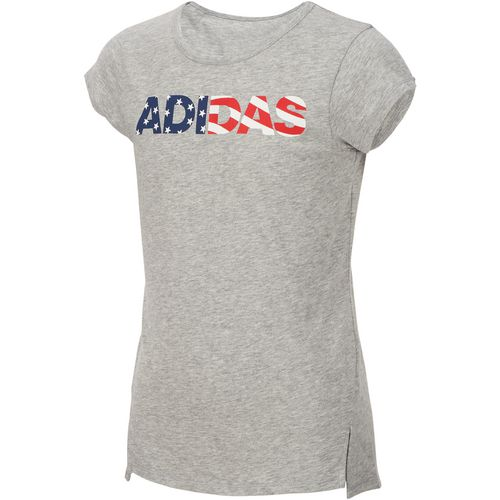 adidas Girls' On My Game Short Sleeve T-shirt - view number 1