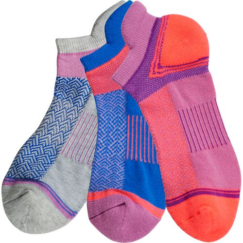 BCG Multisport Cushion No-Show Tab Socks 3 Pack