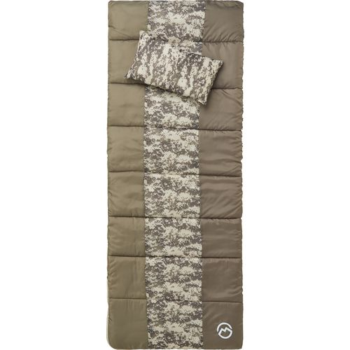 Magellan Outdoors Youth Digital Camo 45 Degrees F Sleeping Bag with Pillow - view number 1