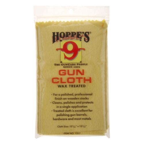 Display product reviews for Hoppe's Wax-Treated Gun Cloth