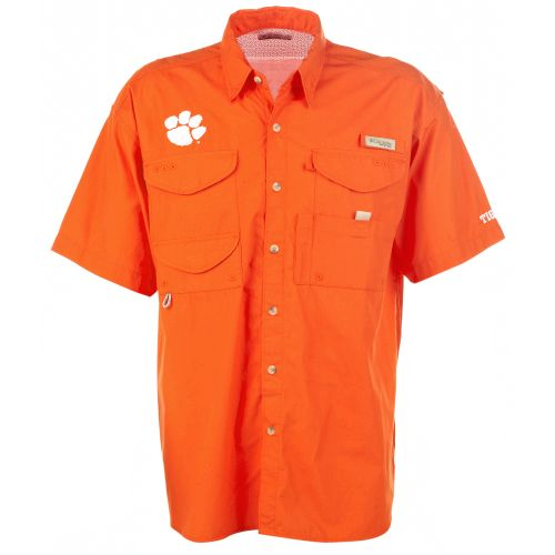Image for Columbia Sportswear Men's Collegiate Bonehead™ Clemson University Shirt from Academy