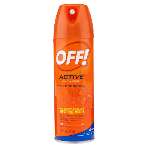 OFF! Active® 6 oz. Aerosol Insect Repellent
