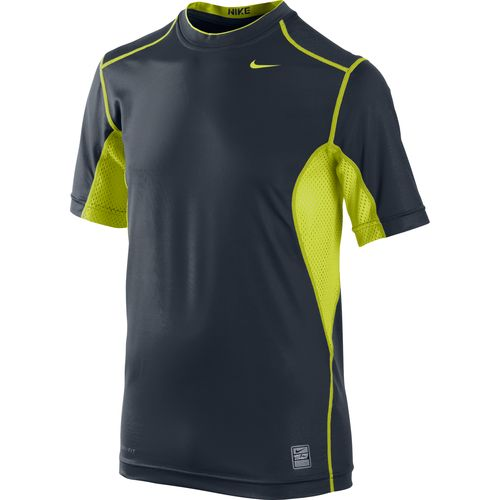 Image for Nike Kids' Hypercool Fitted Short Sleeve Shirt from Academy