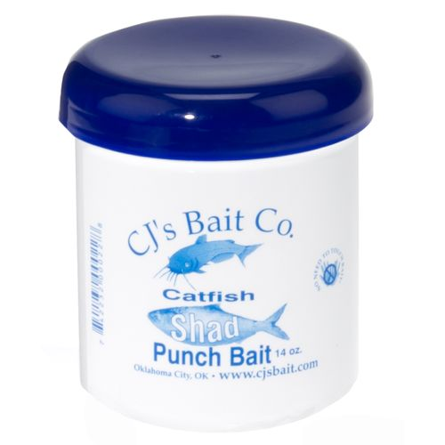 Display product reviews for CJ's Bait Company 14 oz. Catfish Shad Punch Bait