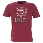 Colosseum Athletics Men's Missouri State University Backfield Short Sleeve T-shirt