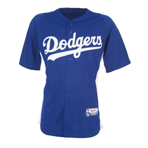 Majestic Adults' Los Angeles Dodgers Cool Base™ Batting Practice Jersey