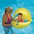 SwimWays Splash Sound Baby Boat with Canopy thumbnail