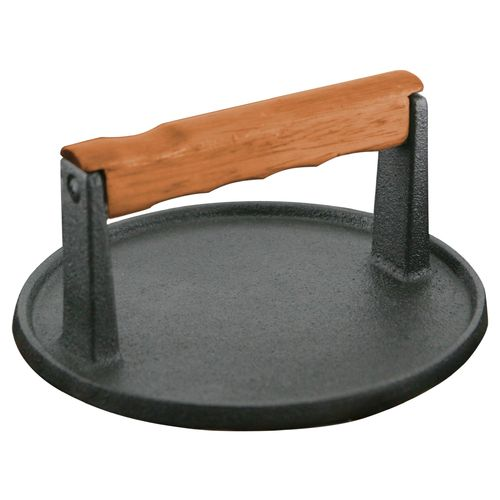 Mr. Bar-B-Q Round Cast-Iron Meat Press