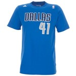 adidas™ Men's Dirk Nowitzki #41 Game Time T-shirt