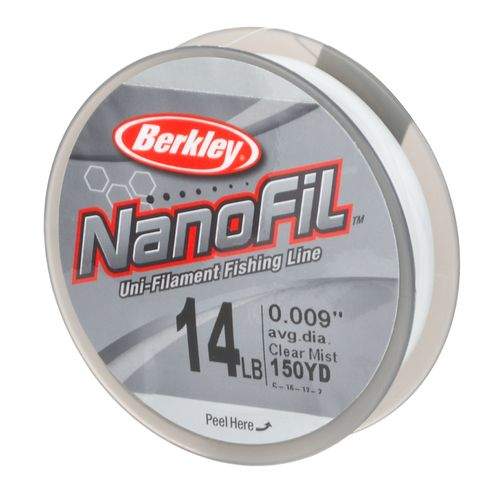 Image for Berkley® NanoFil 14 lb. - 150 yards Filler Spool from Academy