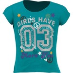 BCG™ Girls' Short Sleeve Drop Tail Screened T-shirt