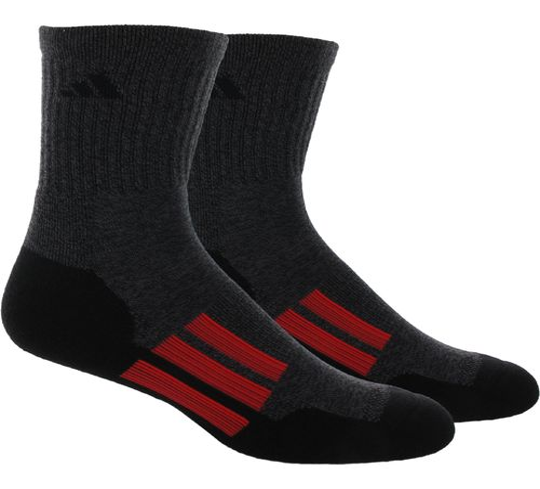 adidas Men's CLIMALITE® X II Mid-Crew Socks 2-Pack