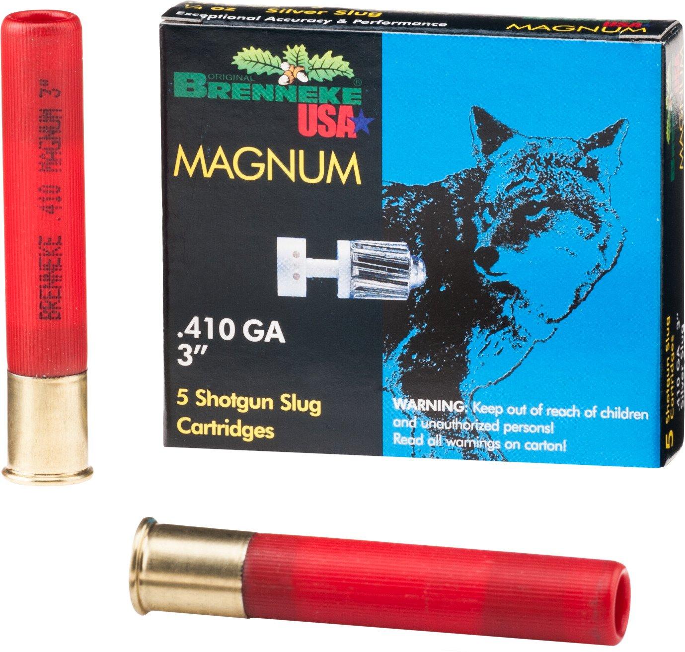 For brenneke close encounter 410 gauge shotgun slugs from academy