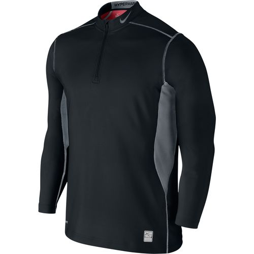 Nike Men s Pro Combat Hyperwarm Dri-FIT Max Fitted 1/4 Zip Jacket