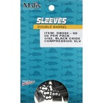 Malin Double-Barrel 3/32 in Compression Sleeves 50-Pack - view number 1
