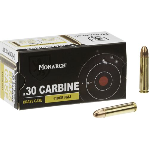 Monarch® Carbine FMJ .30 110-Grain Rimfire Ammunition