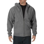 Dickies Men's Midweight Fleece Full Zip Hoodie