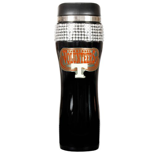 Great American Products University of Tennessee 14 oz. Stainless-Steel Bling Tumbler
