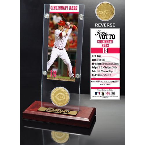 The Highland Mint Cincinnati Reds Joey Votto Ticket