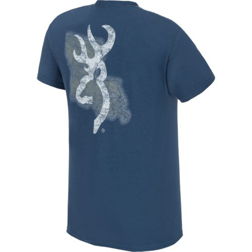 Browning™ Men's Louisiana Buckmark T-shirt