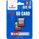 Academy Sports + Outdoors™ 4 GB SD Cards 2-Pack