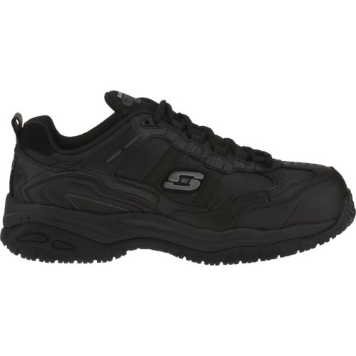 Display product reviews for SKECHERS Men's Soft Stride Grinnell Composite-Toe Relaxed Fit Work Shoes