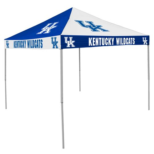 Logo University of Kentucky Straight-Leg 9 ft x 9 ft Checkerboard Tent - view number 1
