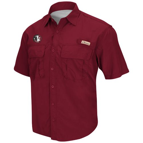 Colosseum Athletics Men's Florida State University Swivel Fishing Shirt