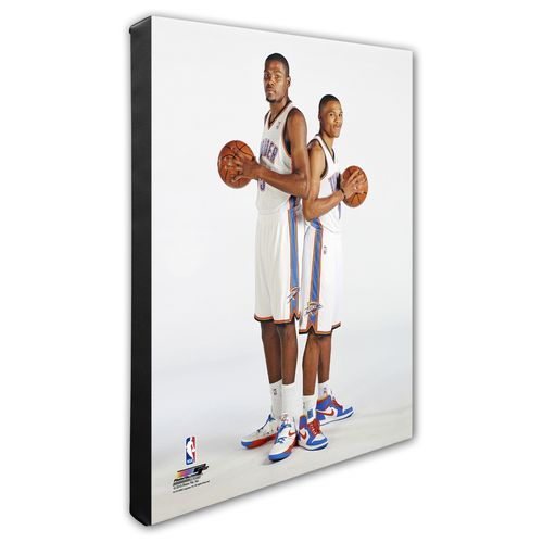 "Photo File Oklahoma City Thunder Kevin Durant and Russell Westbrook 8"" x 10"" Photo"