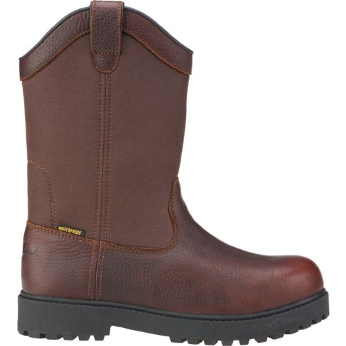 Brazos Men's Ironmite II Wellington Steel Toe Work Boots