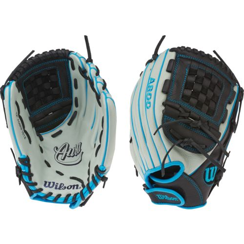 "Wilson Girls' Aura BBG 12"" Fast-Pitch Pitcher/Infield Softball Glove"