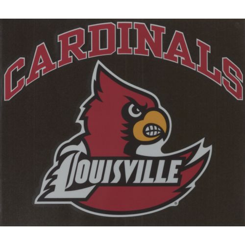 "Stockdale University of Louisville 8"" x 8"" Vinyl"