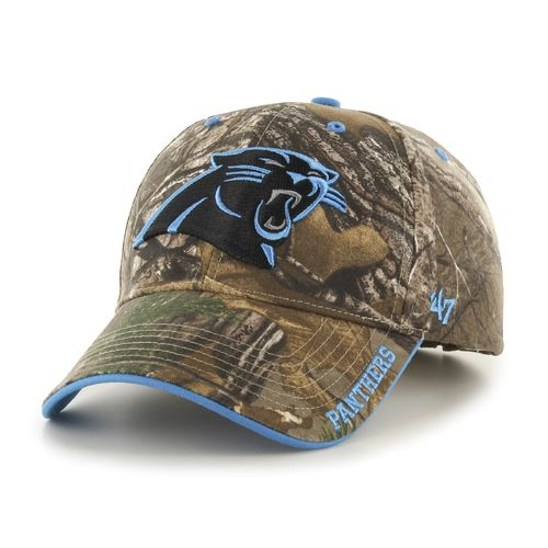 '47 Adults' Carolina Panthers Realtree Frost MVP Cap