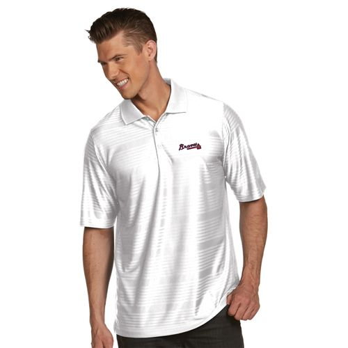 Antigua Men's Atlanta Braves Illusion Polo Shirt