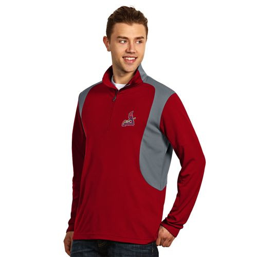 Antigua Men's St. Louis Cardinals Delta Pullover