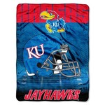 The Northwest Company University of Kansas Overtime Micro Raschel Throw - view number 1