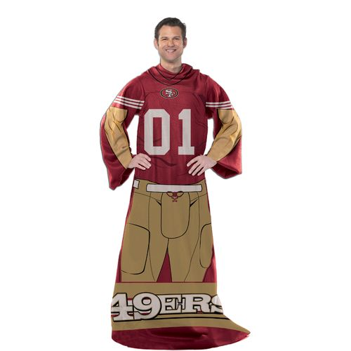 The Northwest Company San Francisco 49ers Uniform Comfy Throw