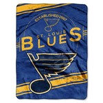 The Northwest Company St. Louis Blues Stamp Raschel Throw
