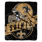 The Northwest Company New Orleans Saints Grandstand Raschel Throw - view number 1
