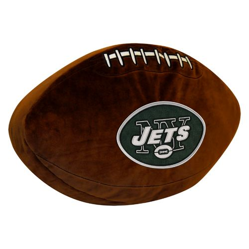 The Northwest Company New York Jets Football Shaped Plush Pillow