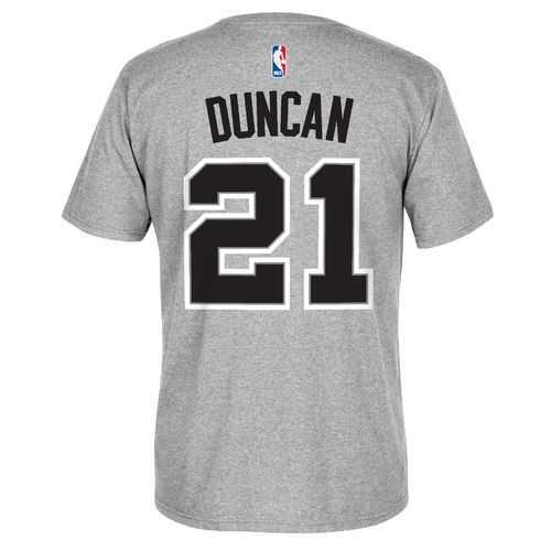 adidas™ Men's San Antonio Spurs Tim Duncan #21 7 Series T-shirt