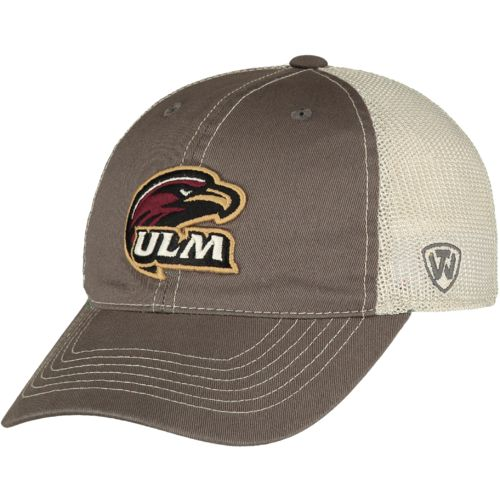 Top of the World Adults' University of Louisiana at Monroe Putty Cap