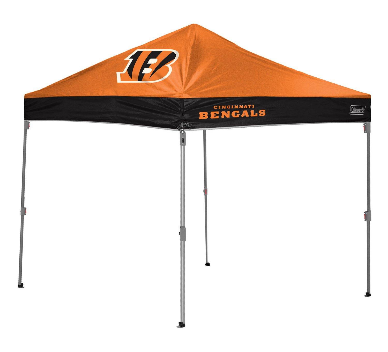 Coleman® Cincinnati Bengals 10' x 10' Straight-Leg Canopy