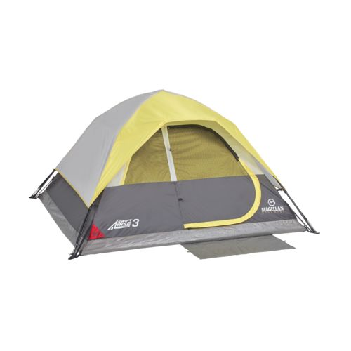 Display product reviews for Magellan Outdoors SwiftRise Instant 3 Person Dome Tent