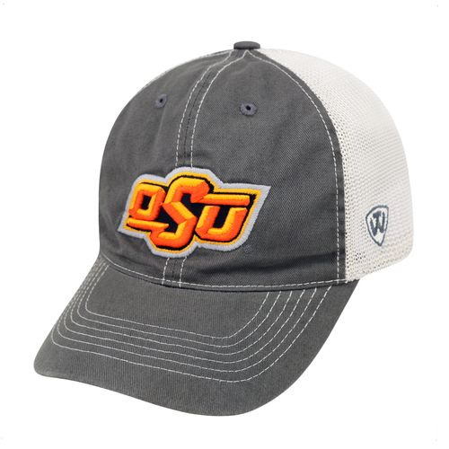 Top of the World Adults' Oklahoma State University Putty Cap