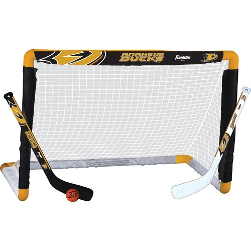 Franklin Anaheim Ducks Mini Hockey Goal Set