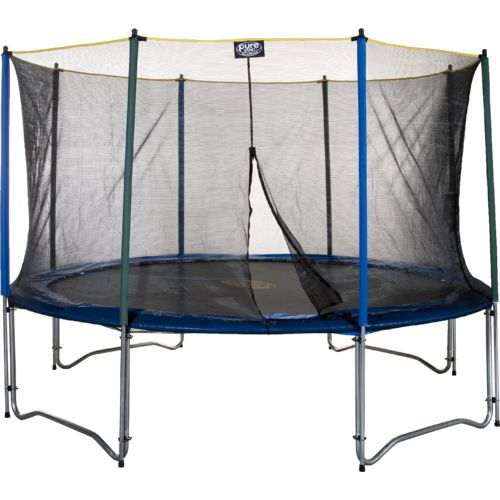 Pure Fun 12' Round Trampoline with Enclosure