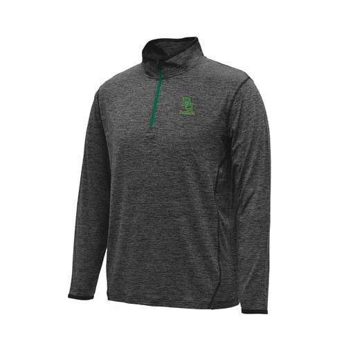 Colosseum Athletics Men's Baylor University Action Pass Long Sleeve 1/4 Zip Pullover