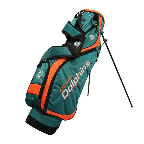 Team Golf Miami Dolphins Nassau Golf Stand Bag